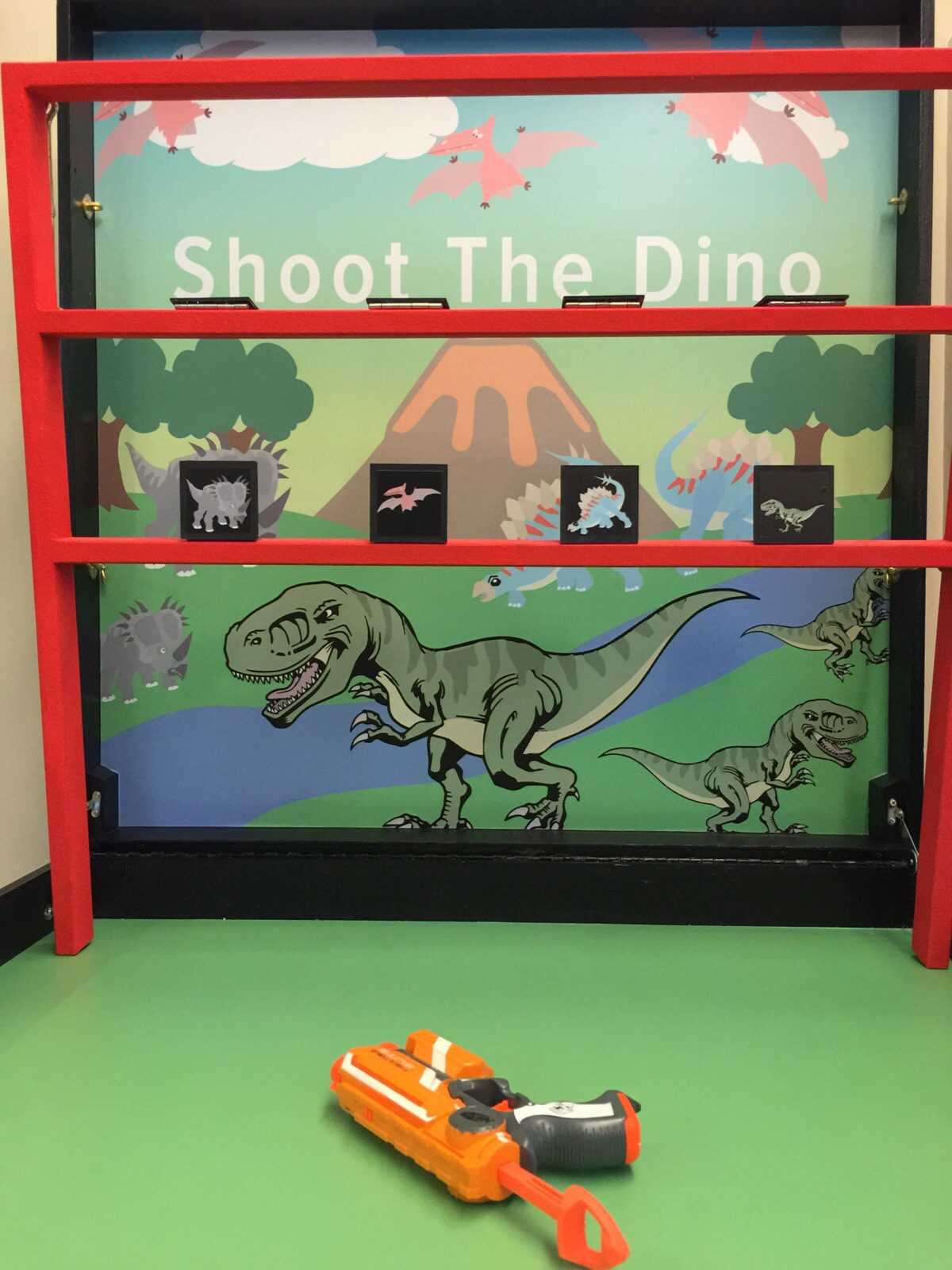 Shoot the Dino
